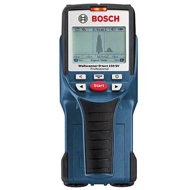 Detector de Materiales Bosch D-TECT 150 Fuente de alimentación 4 x 1;5 V LR6 (AA)
