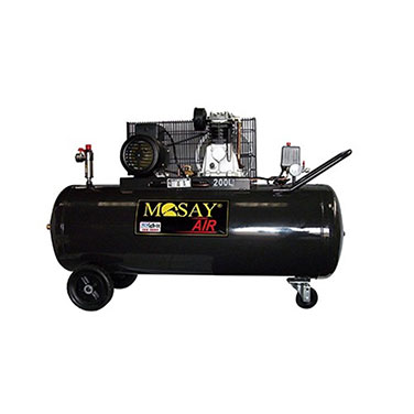 Compresor Polea  Mosay Mosay 1C12171200 3HP 200L