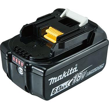 Batería Ion-Litio 6.0Ah Makita BL1860B 18V