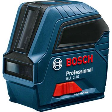 Nivel Láser Bosch GLL 2-10 3 x 1,5 V LR6 (AA)
