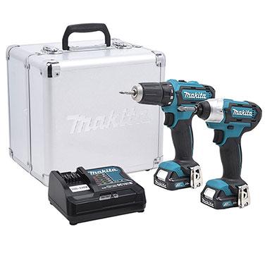 Combo taladro Makita CLX201SAX 10.8 V