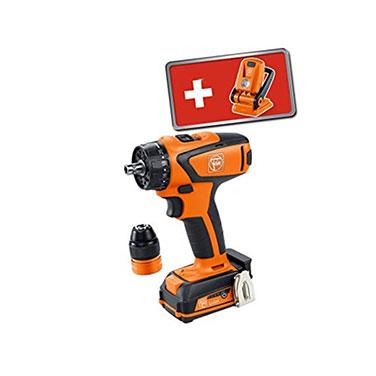FEIN Taladro atornillador a batería ASCM 12 C + ALED 71161063000