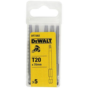Punta de Atornillar Dewalt DT7292-QZ T20 x 70 mm