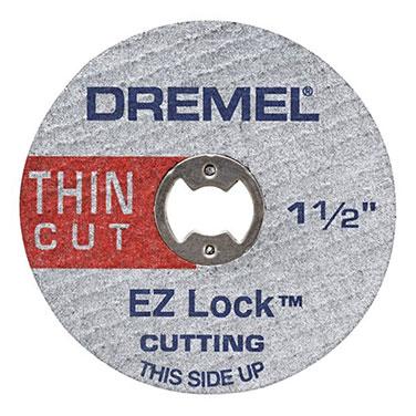 Discos de Corte Fino Metal Ez Lock Dremel 2615E409AA 5 Discos