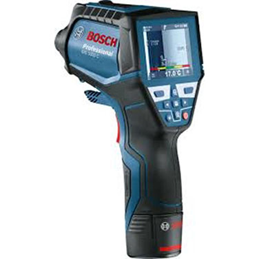 Detector de Temperatura Bosch GIS 1000C Alimentación de tensión L-Boxx + batería de 10,8 V