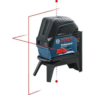 Nivel lasér + Base Bosch GCL 2-15 Alimentación de tensión3 x 1,5 V LR6 (AA)