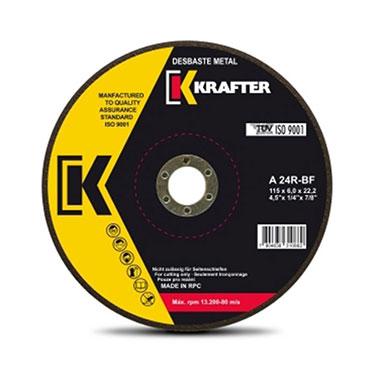 Disco de corte metal Krafter A30R 3.0mm