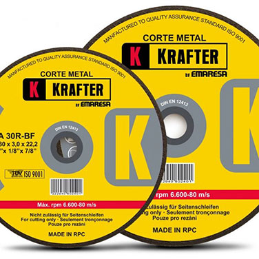 Disco de corte metal Krafter A30R 3.0mm