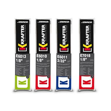 Electrodo KRAFTER  E 7018  3-32  2.5MM  1 KG 4420000070182 Krafter