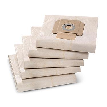 Set Bolsas Aspiradora Karcher 69042850 5 Bolsas