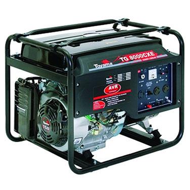 Generador a Gasolina. Partida Eléctrica con batería Toyama Toyama  6.5 Kw