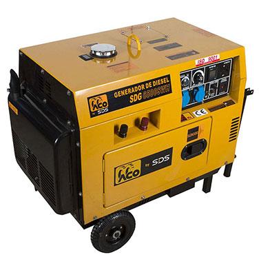 Generador Diesel SDS Power SDG6500SWH 160 Amperes  2.2 KiloWatts