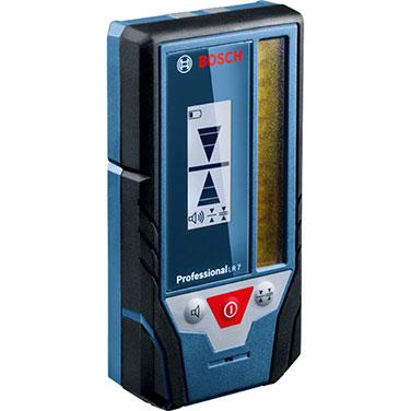 Receptor lasér Bosch LR 7 Alimentación de tensión 2 x 1,5-V-LR6 (AA)