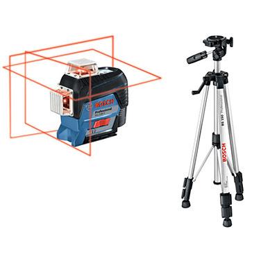 Nivel de Láser de Líneas + Tripode Bosch GLL 3-80C 0,82 Kg