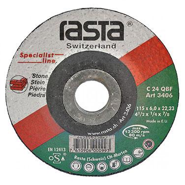 DISC DESB. CERAMICA 3412 7` X 1/4` X 7/8` RASTA