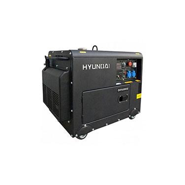 Generador Diesel Partida Eléctrica Monofásico Hyundai 78DHY6000SE 230 V