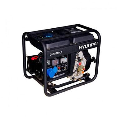 Generador  Diesel  Partida Eléctrica Monofásico Hyundai 78DHY8000LE 230 V