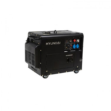 Generador Diesel Partida Eléctrica Monofásico Hyundai 78DHY8000SE 230V
