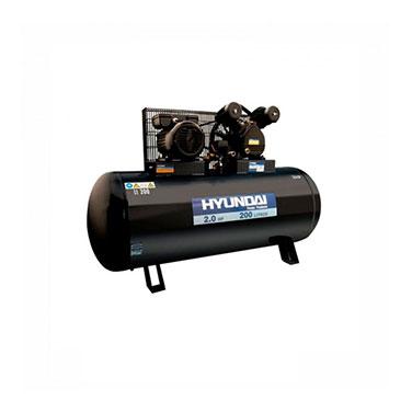 Compresor Monofásico Correa Hyundai 78HYAC200C 2HP 200L