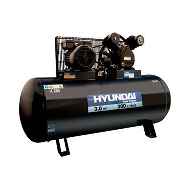 Compresor Monofásico Correa Hyundai 78HYAC300C 3 HP 300 L