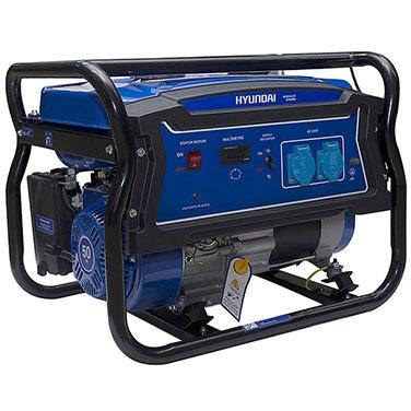 Generador Gasolina  Partida Manual Monofásico Abierto Hyundai 82HYG4050 2000 W