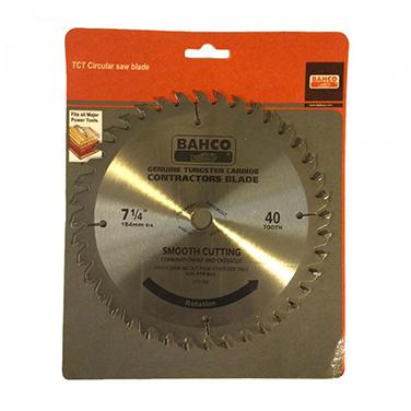 Disco de Sierra Bahco CTC-740 7-1/4 Pulgadas