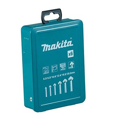Set de Avellanadores Makita D-42503 6 Pzas