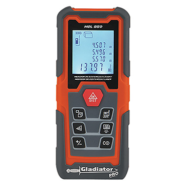 Medidor de Distancia Laser Gladiator MDL 850 0,15 - 50 metros
