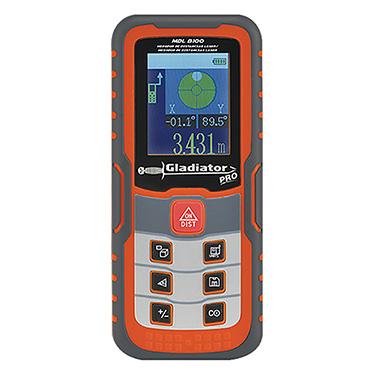 Medidor de Distancia Gladiator MDL 8100 0,05 - 100 metros