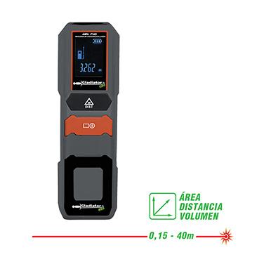 Medidor de distancias Gladiator MDL 740 0,15-40 metros