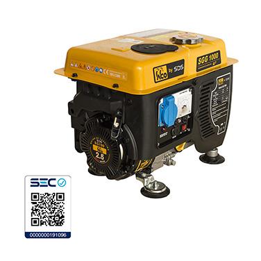 Generador Bencinero SDS Power SGG1000 0.8 Kw