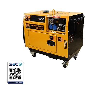 Generador Diesel SDS Power SDG6500S 5.0kW
