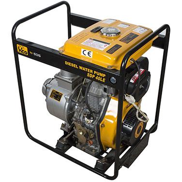 Motobomba diesel Arranque eléctrico SDS Power SDP40LE 4