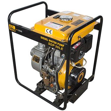 Motobomba diesel Arranque eléctrico SDS Power SDP30LE 3
